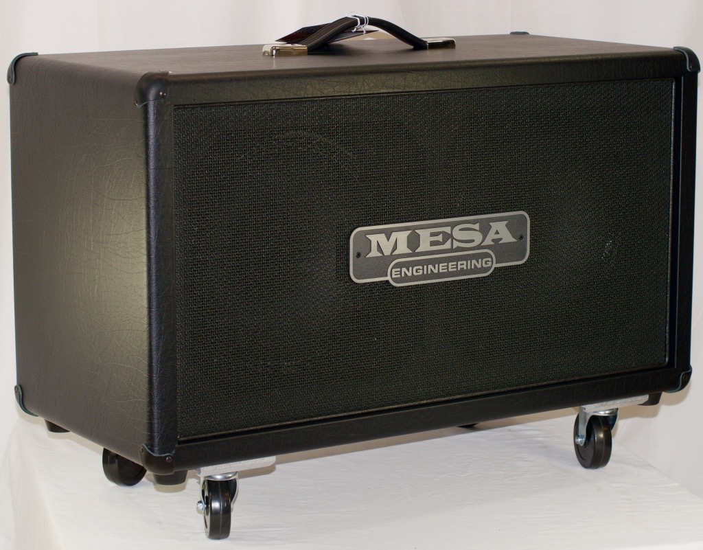 mesa boogie 2x12 recto horizontal cabinet. Black Bedroom Furniture Sets. Home Design Ideas